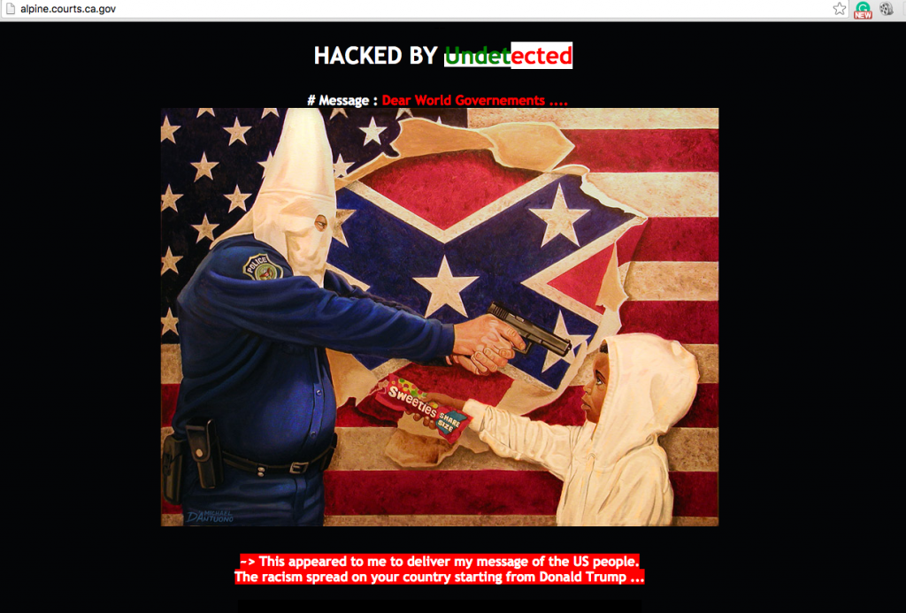 alpine-county-superior-court-ca-website-hacked-racism
