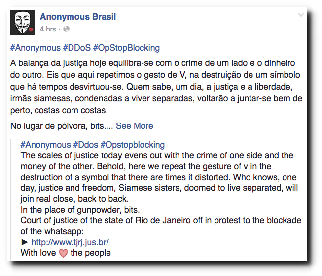 anonymous-ddos-rio-court-website-against-blocking-whatsapp-in-brazil