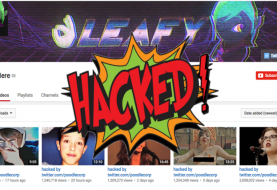 Another Popular YouTube Channel 'LeafyIsHere' Hacked; Defaced
