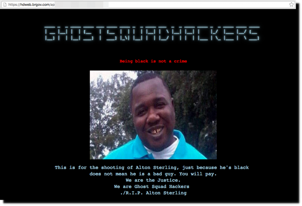 baton-rouge-city-website-hacked-alton-sterling-killing-police