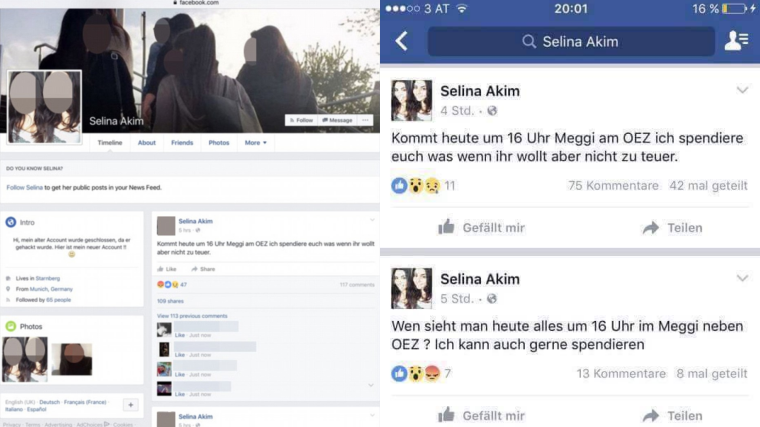 Munich Shooter Invited People to McDonald's using hacked Facebook account