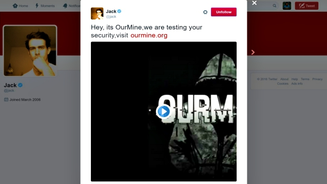 'Our Mine' Hacks Twitter Account of Twitter CEO Jack Dorsey