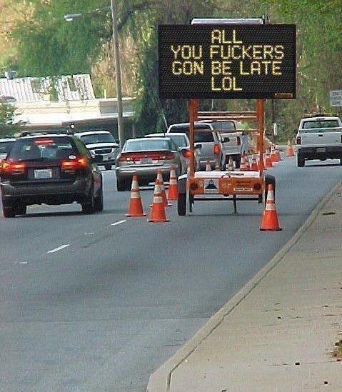 hacking -traffic-sign