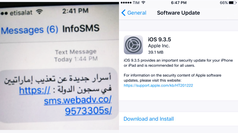 Update iPhone to iOS 9.3.5; Prevent this Highly Sophisticated Spyware