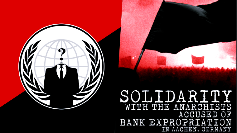 Anonymous Hacks Deutsche Bank Group' Subsidiary Against Aachen Repression