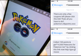 Beware; Hackers targeting Pokemon Go Users with Smishing Scam