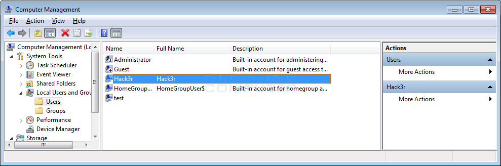 Hacker's account / Image Source: BleepingComputer