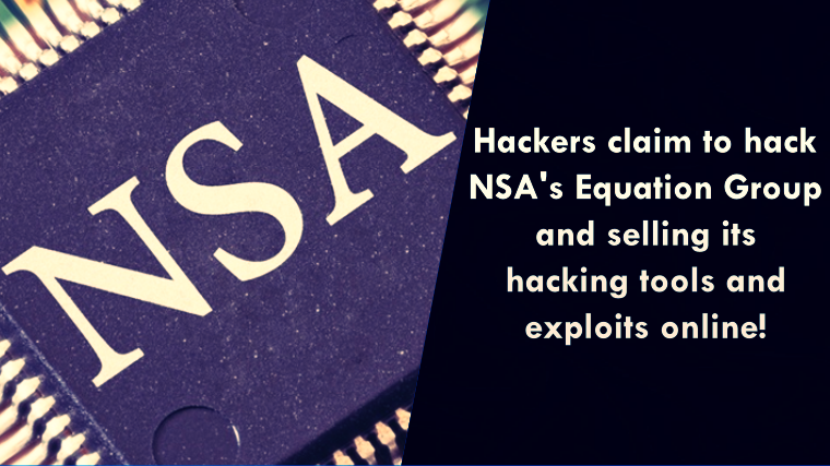 Hackers Claim Stealing NSA Hacking Tools; Selling Them Online