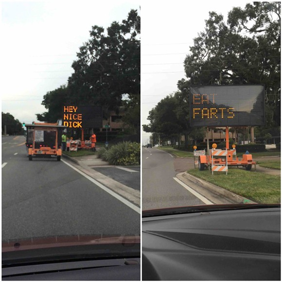 hacking -traffic-sign