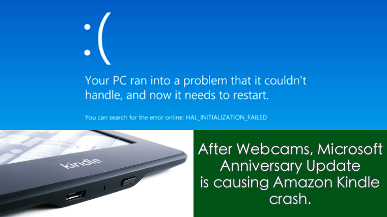 Windows10 Anniversary Update Causing Devices to Crash – Yet Again!