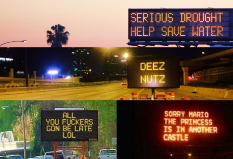 24 Funny, Upsetting and Shocking Hacked Traffic Signs