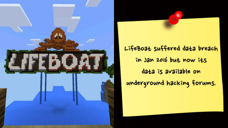 7 Million LifeBoat Accounts from Jan 2016 Breach Leaked Online