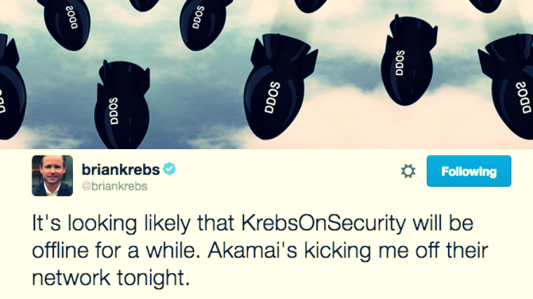 Akamai Kicks off Brian Krebs from its network after 665 Gbps DDoS attack