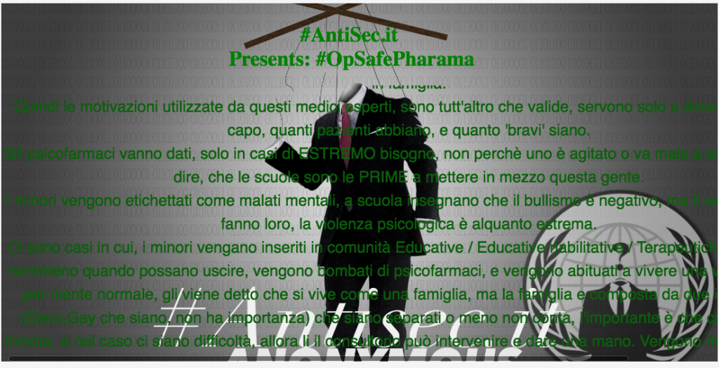 anonymous-targets-italian-healthcare-sites-against-adhd-treatment-policies-4