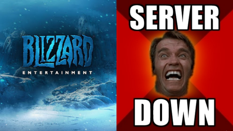Blizzard Suffers DDoS Attack; Servers Go Down.. AGAIN