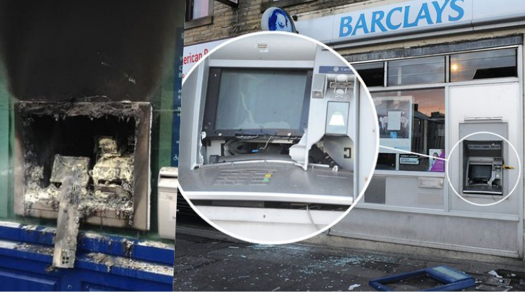 Criminals Use Explosives to Crack Open ATMs; 492 Attacked So Far