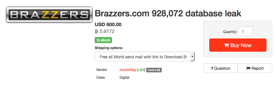 Hacked Brazzers Epicgames And Clixsense Data Being Sold