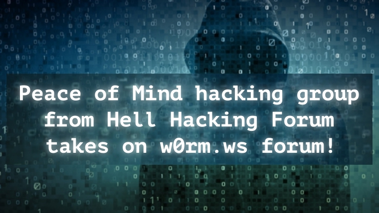 Hacking, Trading Forum w0rm ws Hacked