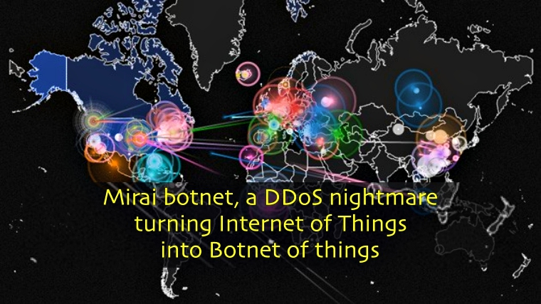 Mirai Botnet Linked to Massive DDoS Attacks on Dyn DNS