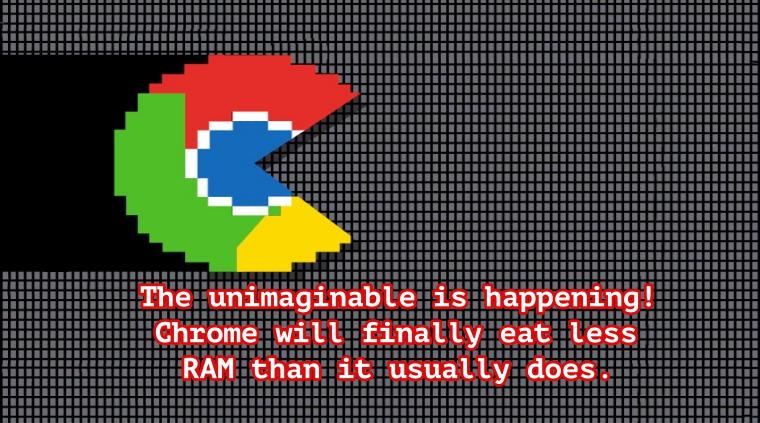The next Google Chrome update will make it consume less RAM