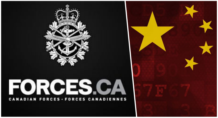 Canadian Army Recruitment Site Hacked; Redirected to Chinese Govt Webpage