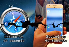 Hackers Pwned Apple Safari in 20 seconds; Google Pixel in 60 seconds