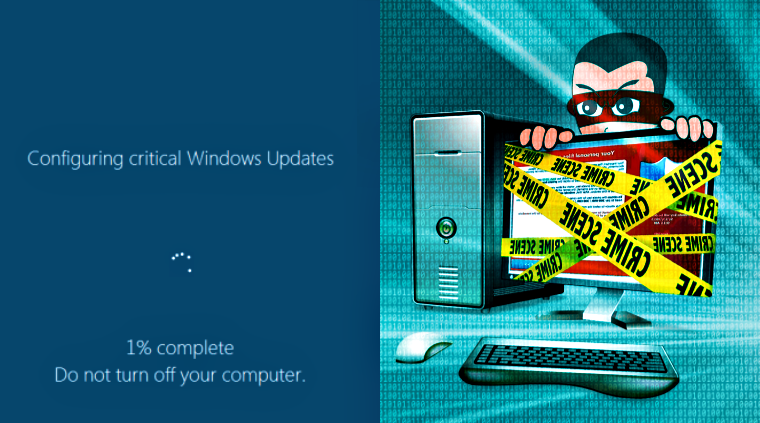 Ransomware Disguised as Windows Update Causing Havoc among Users