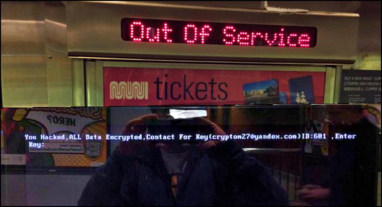 San Francisco Railway' Fare System Hacked for 100 Bitcoin Ransom