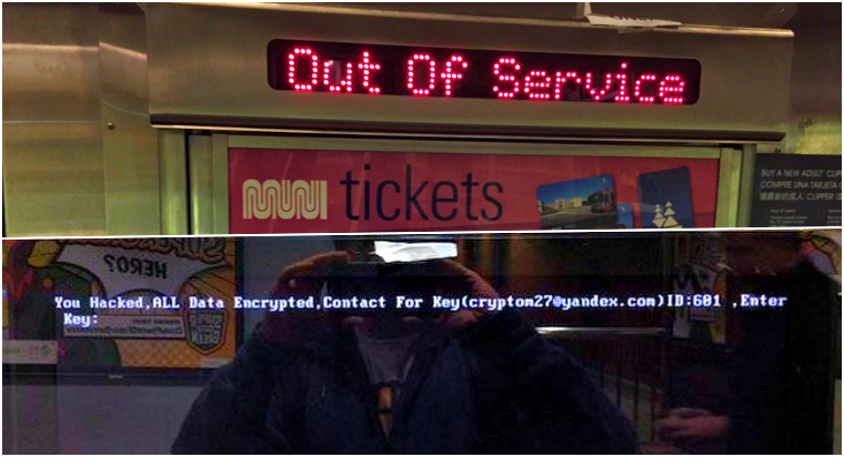 San Francisco Railway' Fare System Hacked for 100 Bitcoin Ransom