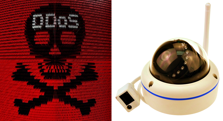 $55 surveillance camera hacked by Mirai botnet within 98 seconds