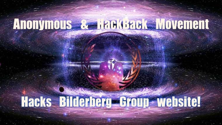 Anonymous Hacks, Defaces Bilderberg Group Website Against World Crisis