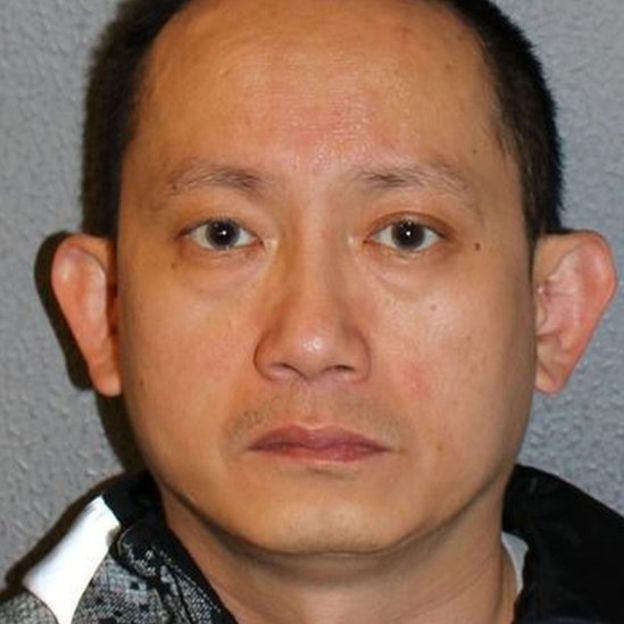 Gabriel Yew file picture / Source: Metropolitan Police via BBC.