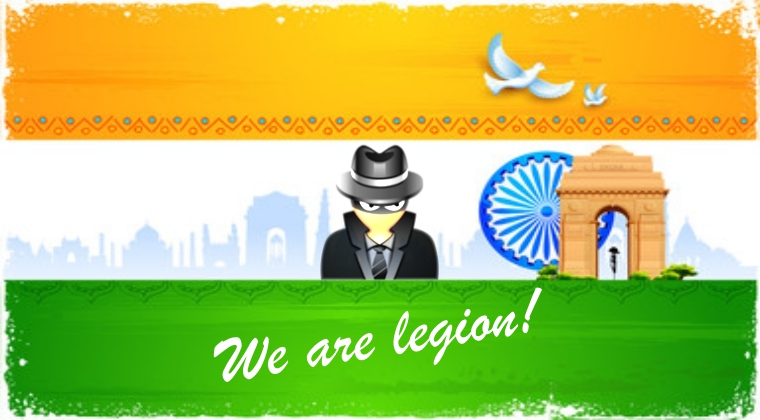 "Meet ""Legion Hacking Group"" Hacking Bigwigs of India"