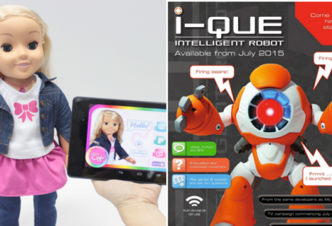 "After Spying Webcams, Welcome the Spy Toys ""My Friend Cayla and I-Que"""