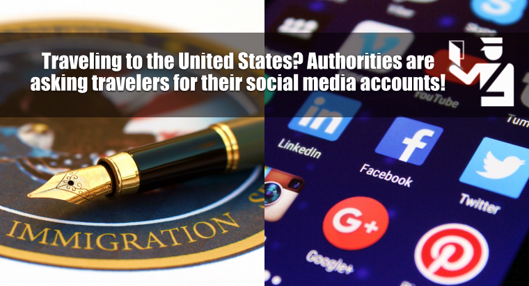 US Immigration asking foreign travelers for their social media account details