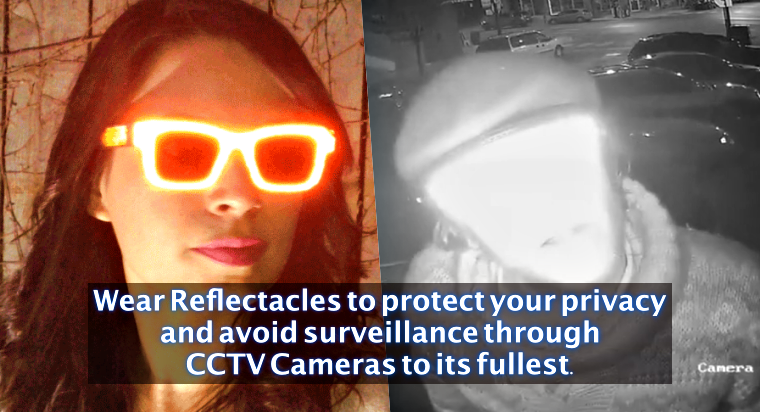 New anti-Facial Recognition Glasses Protect Users' Privacy From CCTV Cameras
