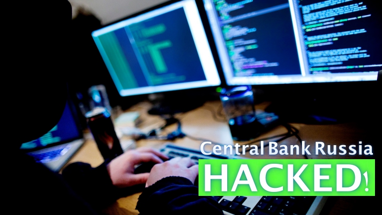 Gone: Russian Central Bank hacked; $31 million stolen