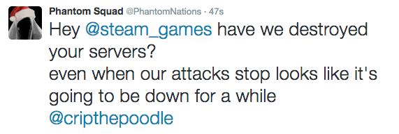 Steam and Origin Servers Down? Phantom Squad & PoodleCorp Claim