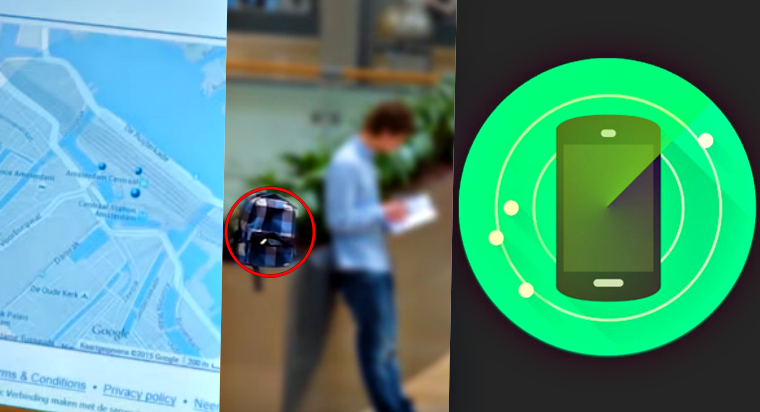 Student makes documentary after spying on thief who stole his smartphone