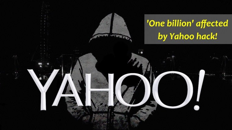 Yahoo hacked; More than 1 billion user accounts impacted