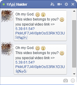 "Facebook users hit with ""You are in this video?"" malware scam"