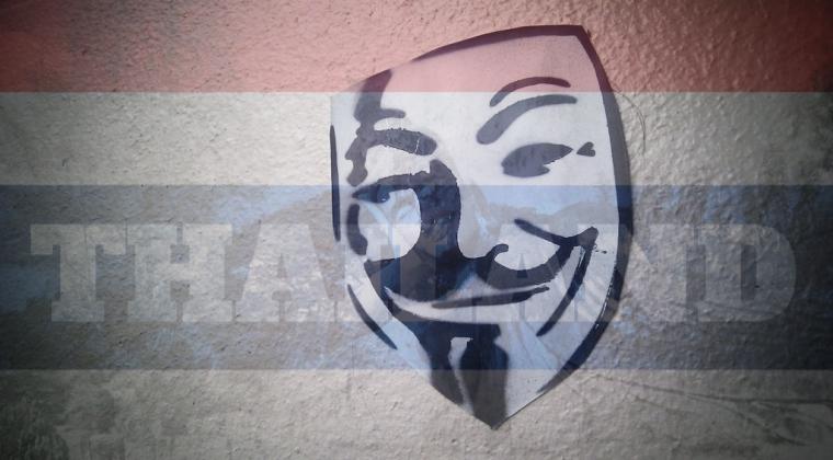 Anonymous hacks Thai Gov't job portal; leaks a trove of data