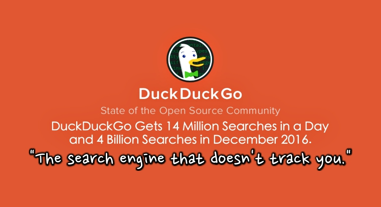 DuckDuckGo Search Engine Hits a Milestone with 14 Million Searches a Day