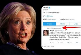 IHOP's Twitter account hacked; retweets a tweet against Hillary Clinton