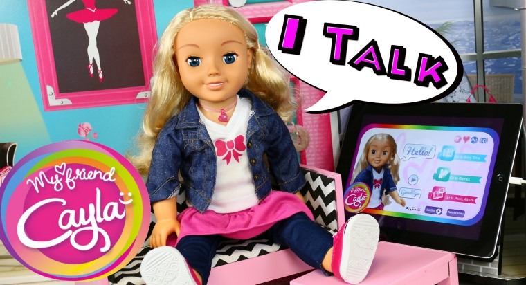 Goodbye Spy Toy: Germany Bans My Friend Cayla Doll