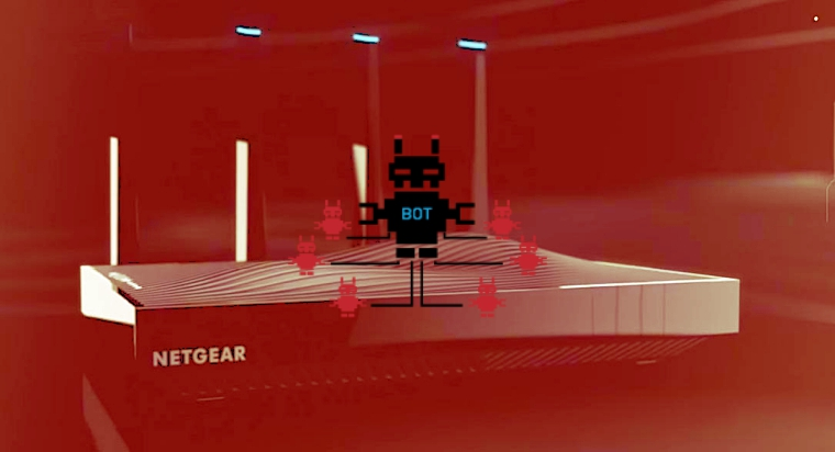 New security flaws can turn Netgear Routers into army of botnets