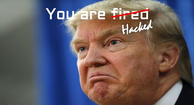Donald Trump Website Hacked by Iraqi Hacker
