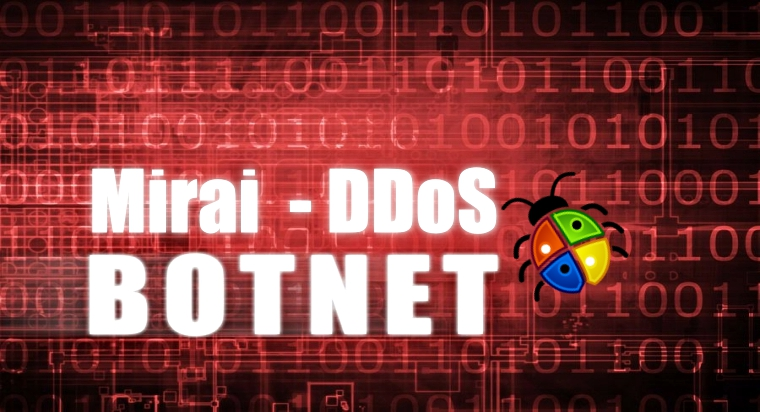 Someone from China is Distributing Mirai Malware Through Windows Botnet