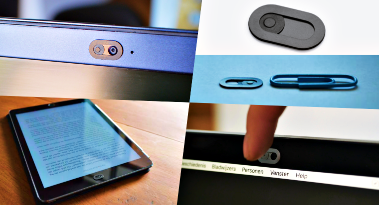 "Tiny ""Spyslide Webcam Cover"" Protects Your Privacy From Hackers, Spies"