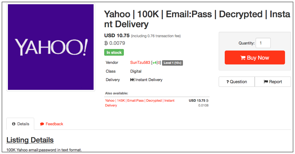 1 Million Decrypted Gmail and Yahoo Accounts Being Sold on ...
